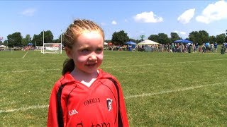 Cutest kid in the world of Ladies Gaelic Football?!