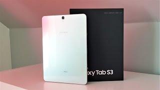 Samsung Galaxy Tab S3 (LTE): Unboxing & erster Eindruck | deutsch