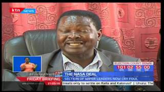 Ukambani leaders distances themselves from NASA after what they claim Kalonzo Musyoka got a raw deal