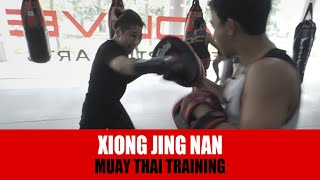 MMA | ONE Strawweight World Champion Xiong Jing Nan goes BEAST MODE!