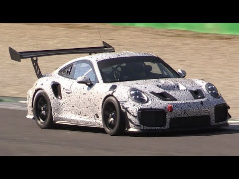 Hardcore Porsche 991 GT2 RS Mule Testing Again at Monza Circuit-What is This Going to Be?