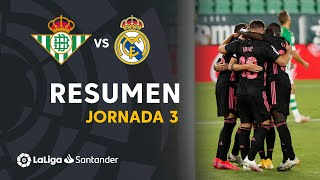 Resumen de Real Betis vs Real Madrid (2-3)