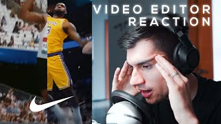 Video Editor Reaction - You Can't Stop Us Nike Commercial // NCORE REACTS #1