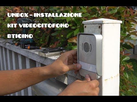 videocitofono bticino 316913 - unbox e installazione