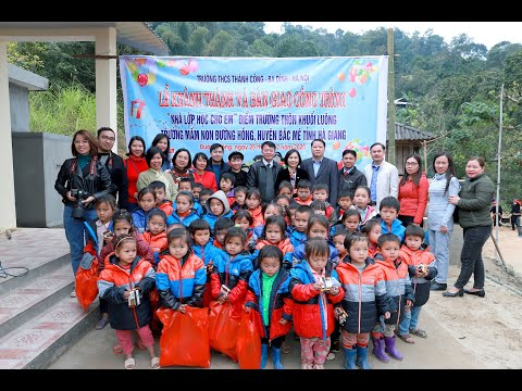 Chương trình Thiện nguyện Hà Giang 2020 - Trường THCS Thành Công, Ba Đình, Hà Nội