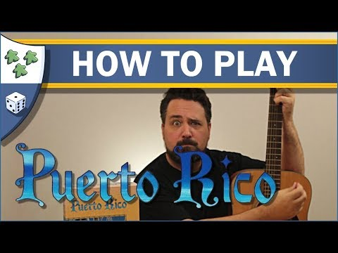 Nights Around a Table - How to Play Puerto Rico