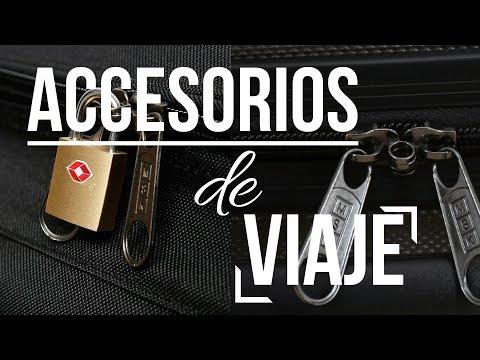 ACCESORIOS DE MALETA Y VIAJE: Funda, báscula, candado TSA...