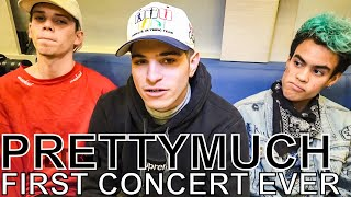 PRETTYMUCH   FIRST CONCERT EVER Ep. 96