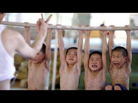 Как в Китае растят будущих чемпионов Олимпийских игр видео