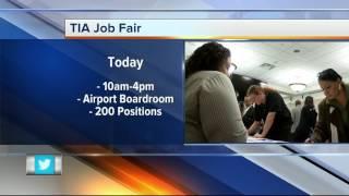 TIA Job Fair Monday