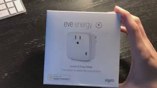 Elgato Eve Energy Unboxing, Setup, and Siri control with Apple HomeKit