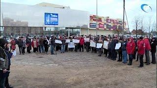 Жители Завокзального района вновь вышли на митинг
