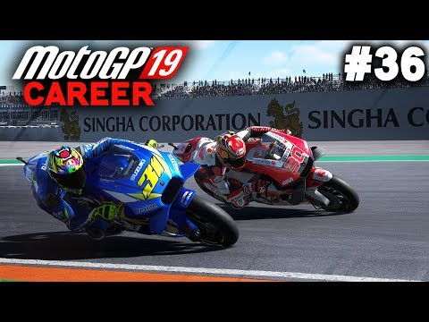 MotoGP 19 Career Mode Gameplay Part 36 - CONTROLLER GLITCH! (MotoGP 2019 Game Career Mode PS4 / PC)