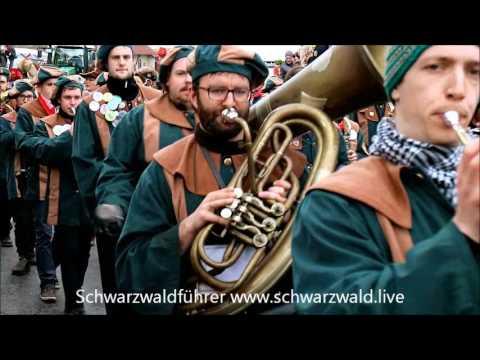 Festumzug des Narrenvereins Friedenweiler