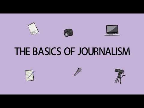 Journalism Classes For Young Journalists   The basics of Journalism