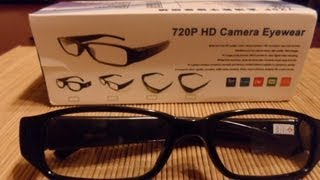 Review: HD 720P Spy Video Glasses from China