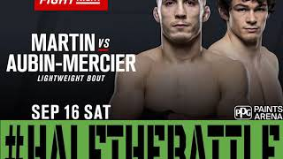 Tony Martin looking for a finish vs OAM at UFC Pittsburgh - Half The Battle