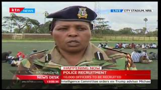 Kenya police commission begin recruitment of police officers
