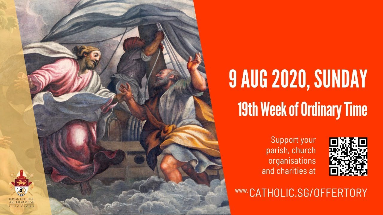 Catholic Sunday Mass Online 9th August 2020