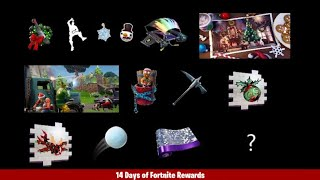 14 Days of Fortnite Day 9 Dance at Christmas Trees(All 14 Christmas Tree Locations)