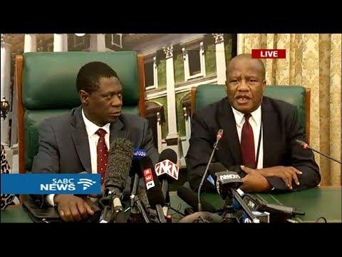 ANC special Caucus: 14 February 2018