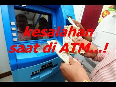 Hindari 5 Kesalahan Saat di Mesin ATM