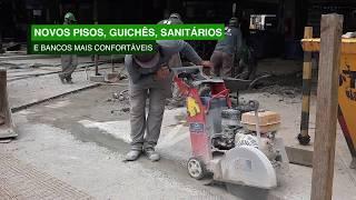 Rodoviária de Santos passa por reformulação para garantir mais conforto a frequentadores