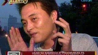 24Oras: Lalaki na nabangga at pinagmumura pa umano ang isang mataas na opisyal ng PNP, arestado