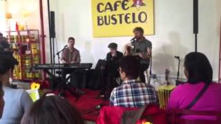 Jukebox the Ghost - Long Way Home 10/25/15 Cafe Bustelo NYC