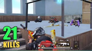 YOU WILL NOT BELIEVE THESE CAMPERS | 21 KILLS SOLO VS SQUAD | PUBG MOBILE