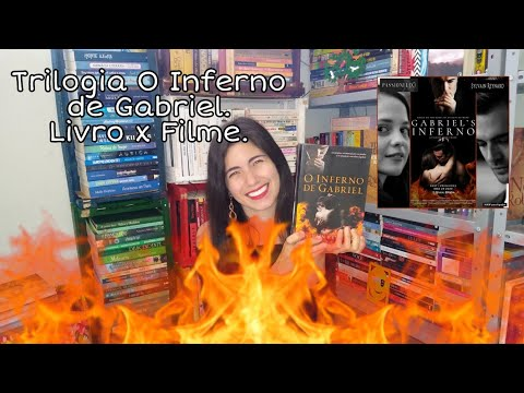 O Inferno de Gabriel. Livro x Filme.