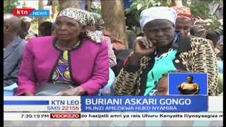 Buriani askari Gongo aliyekufa katika shambulizi ya Dusit amezikwa