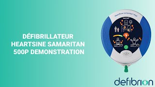 Défibrillateur HeartSine Samaritan 500P Demonstration ( Frans/French)