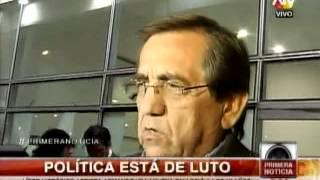 Políticos Expresan Su Pesar Por La Muerte De Armando Villanueva