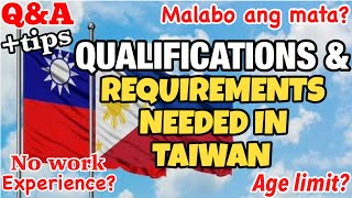 Factory Worker in Taiwan, Requirements & Qualifications | Q&A + Tips