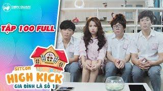 Gia đình là số 1 sitcom | tập 100 full: Kim Chi, Minh, Mẫn, Long bị vố hết hồn với chuyến xe bão táp