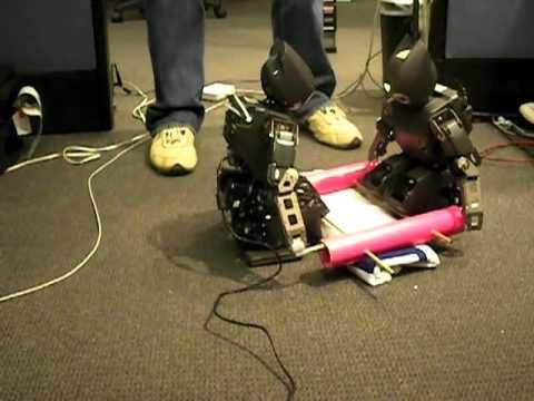 Humanoid robot manipulation and locomotion
