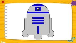 Рисуем робота Р2Д2