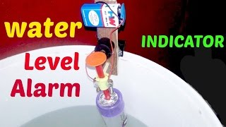 Video Water Level Indicator With Alarm_diy Project.