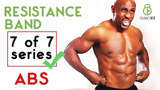 ABS WORKOUT ATHOME WITH RESISTANCE BAND | (I WAS SKOCKED!) FITBEAST