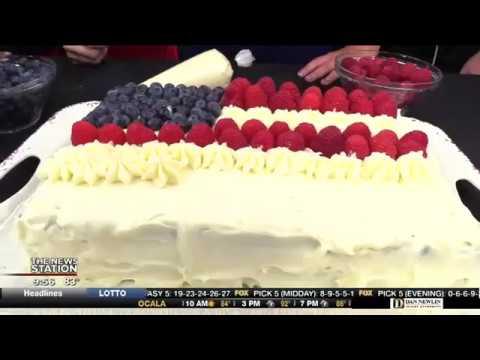 4th of July festive cake