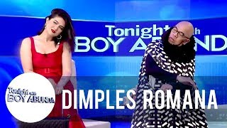 Dimples teaches Señorita dance steps to Tito Boy   TWBA