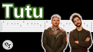 Tutu   Camilo, Pedro CapóTutorial Guitarra(Melodia)Tablatura