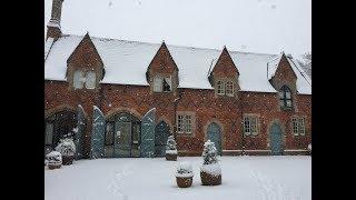 영국풍경: 눈속의 럭비 (Rugby in the snow | 雪の中のラグビー)