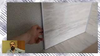 Фартук для кухни из пластика стеновая панель