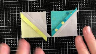 How To Sew Together Half-Square Triangle Units Without Losing Points!