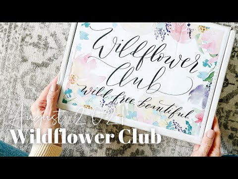 Wildflower Club Unboxing August 2021
