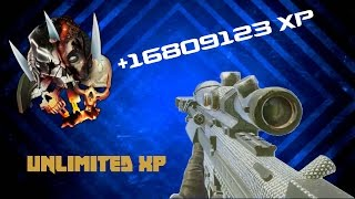 BO2 Unlimited XP Glitch - Unlimited CAMO // RANK UP IN CUSTOM GAMES - Video Youtube