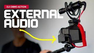 DJI Osmo Action Audio Adapter by CYNOVA
