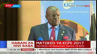 George Magoha: 993,718 students sat for the exam this year